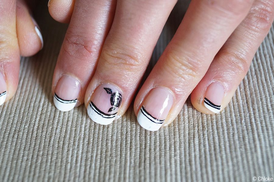 Family Nails - French manucure sur ma Marraine