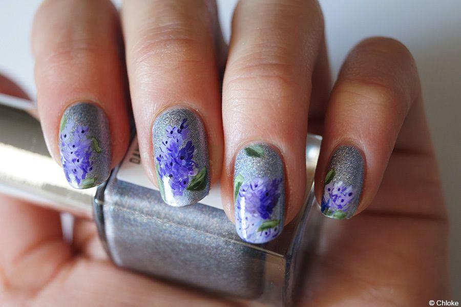 Envolée de lilas