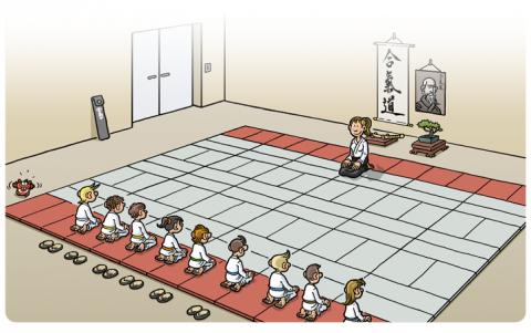 aikido la roche sur yon vendee aikikai yonnais cours enfants