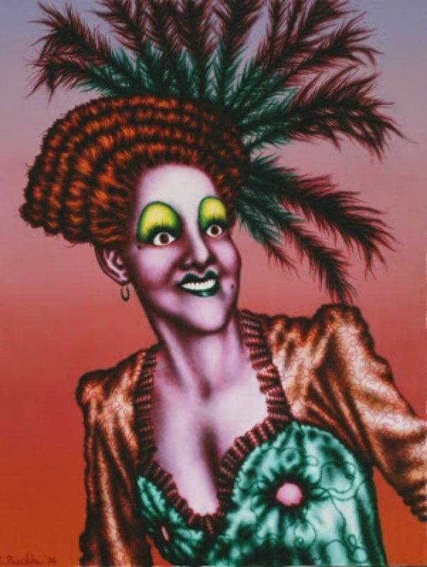 "Ed Paschke - ""Minnie"" - Art Institute Of Chicago - 10 Septembre 2006"