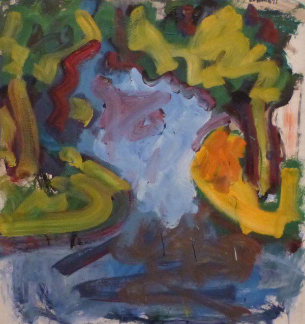 Robert De Niro Sr - Landscape With Pond - Charlotte North Carolina - Mint Museum - 29 mai 2012