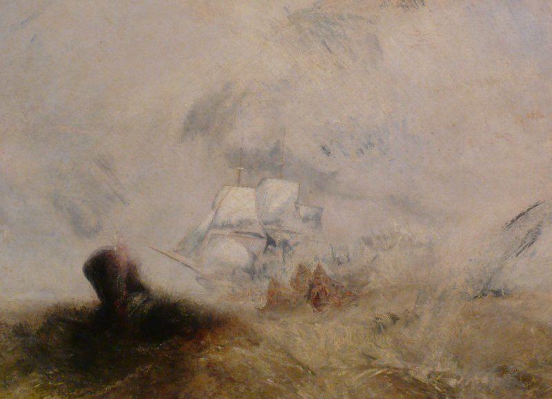 Joseph Mallord William Turner - Whalers - New York - Metropolitan Museum - 21 mai 2009