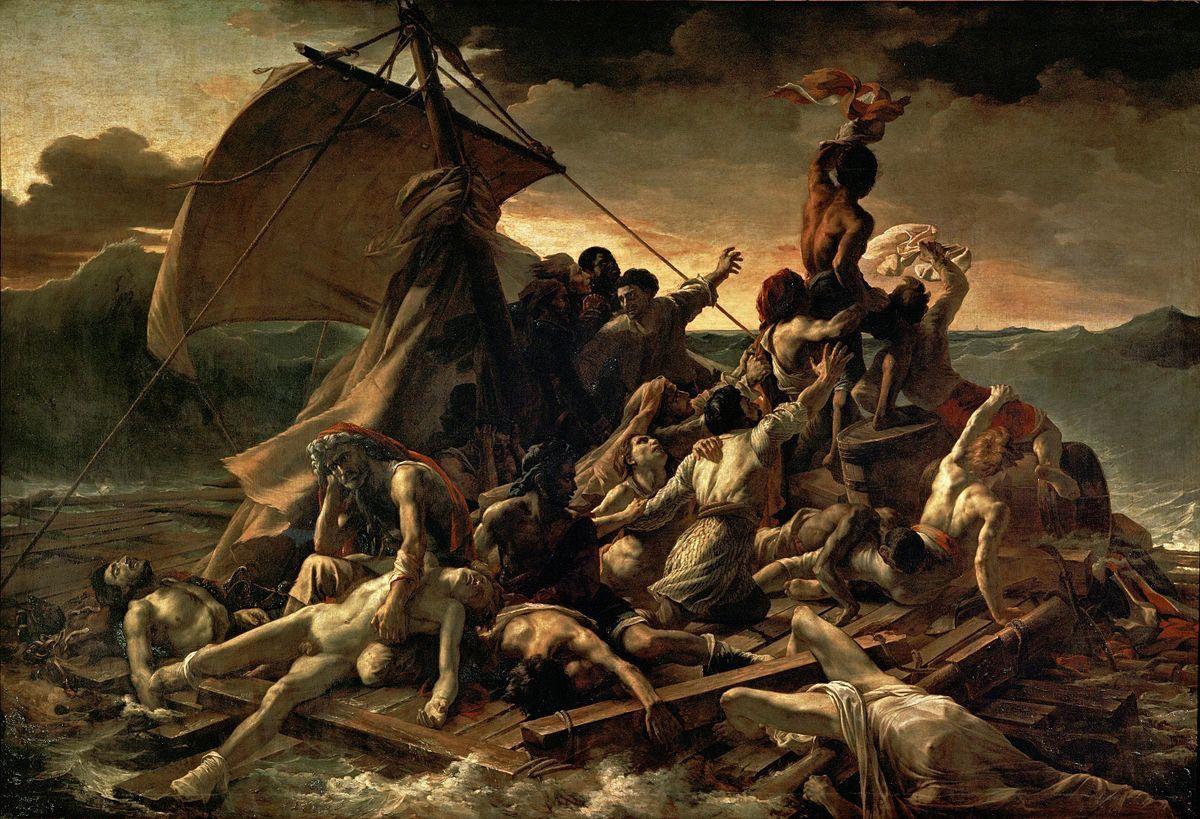 Théodore Géricault. Le radeau de la Méduse.