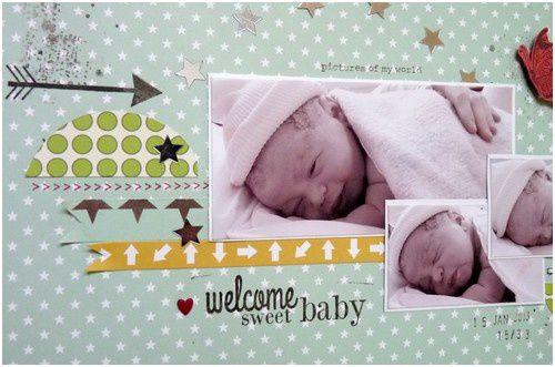 page &quot&#x3B;welcome sweet baby&quot&#x3B;