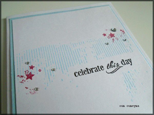 carte &quot&#x3B;celebrate this day&quot&#x3B;