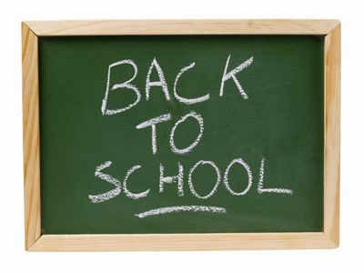 BACK TO SCHOOL on Tuesday, September 3rd !