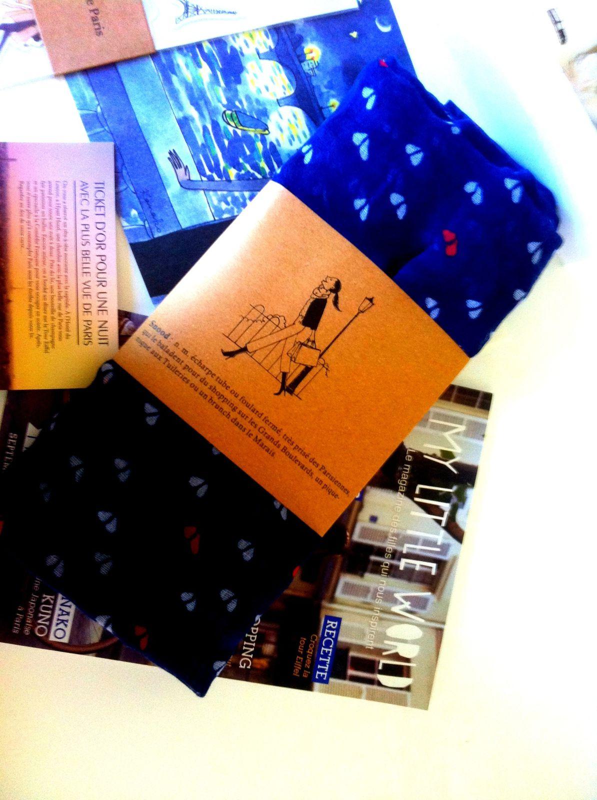 My little Parisienne box du mois de septembre