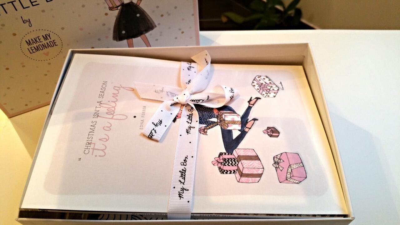 My little box by Make me lemonade du mois de décembre