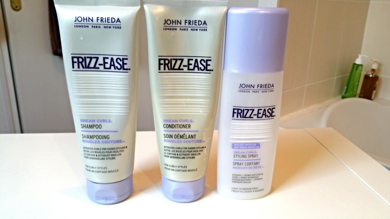Ma routine cheveux John Frieda