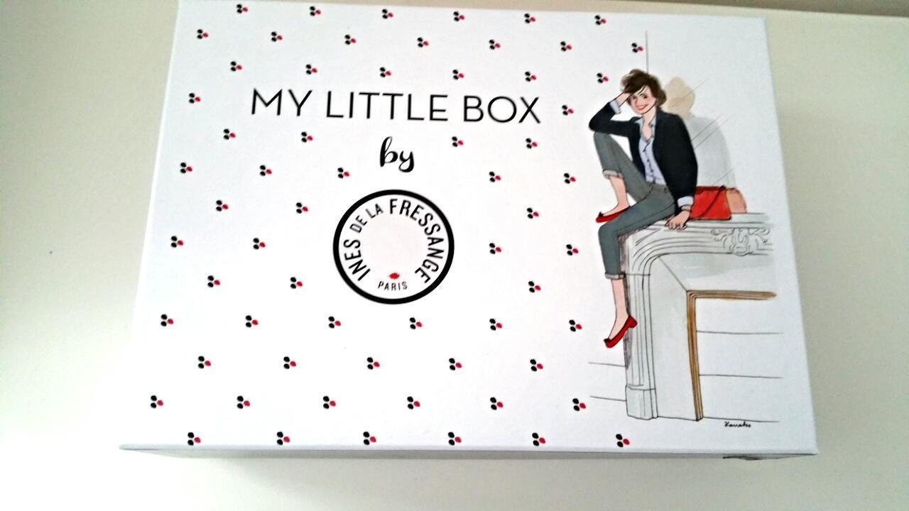 My little box du mois de février avec Ines de la Fressange