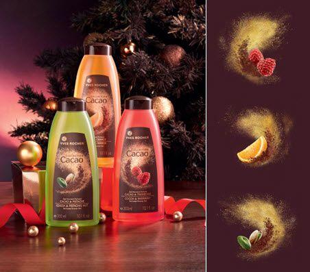 La collection Cacao de chez Yves Rocher