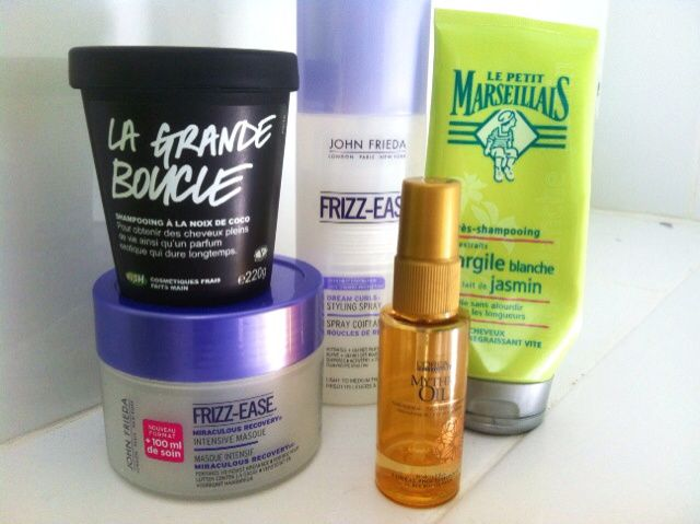 Ma routine capillaire du moment