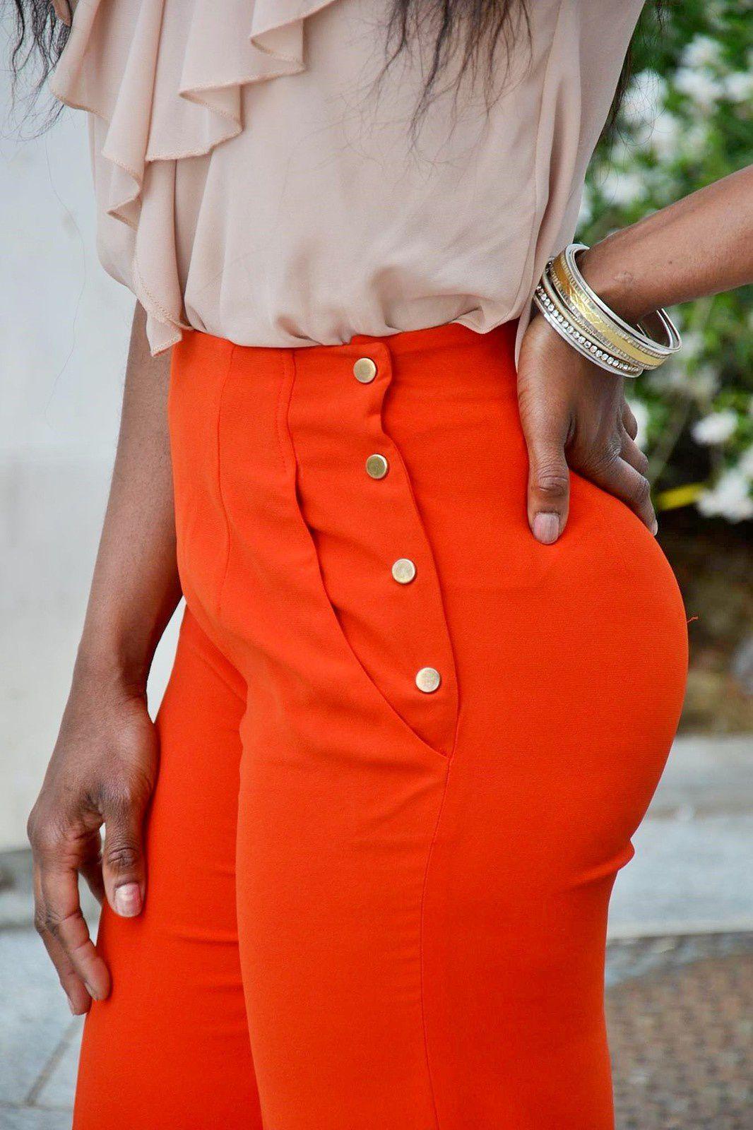 pantalon taille haute high waist pants nearia. Black Bedroom Furniture Sets. Home Design Ideas