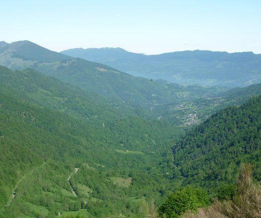Pyrénées 5 ième étape. Oust-Bagnères de Luchon.