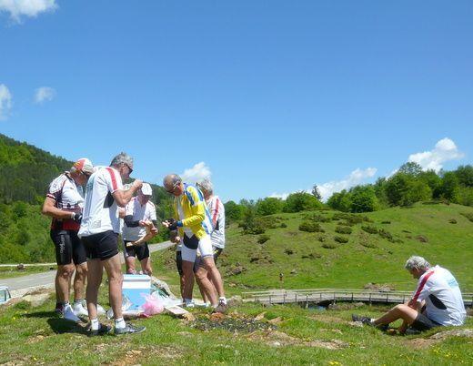 Pyrénées 4 ième étape. Tarascon sur Ariège- Oust.