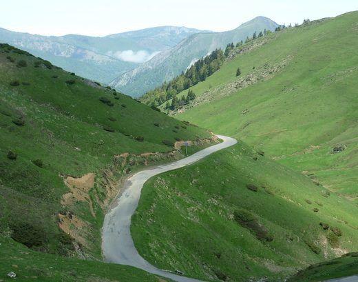 Pyrénées 6 ième étape. Bagnéres de Luchon-Cazaux-Fréchet.