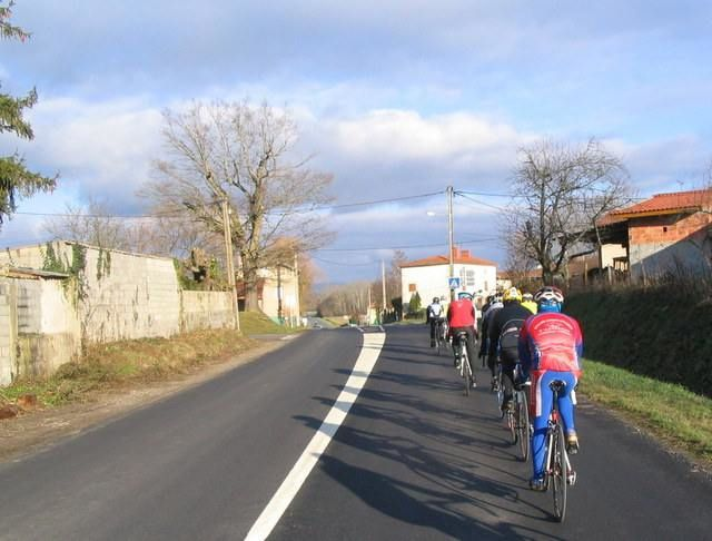 Sur la route du retour du coté des Genestoux.
