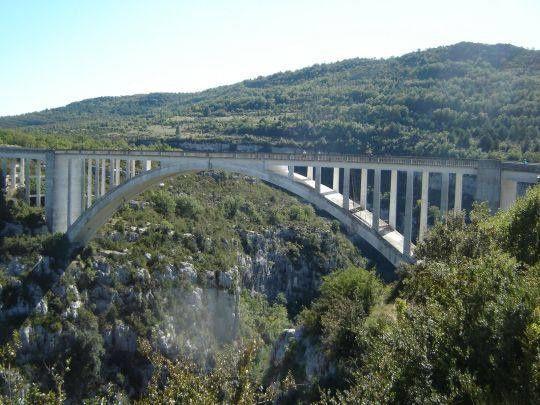 Le plateau, propriété militaire de Canjuers. Pont de l'artuby (photo d'archive)