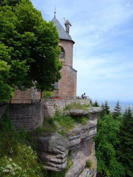 Antoine et la visite du Mont-Saint-Odile