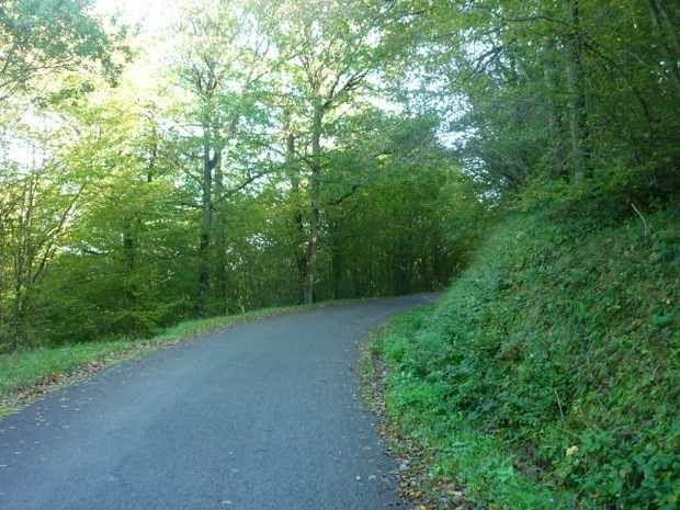 La montée vers Salpaleine et Outre...
