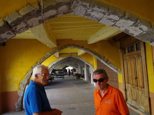 Les arcades du XV siècle