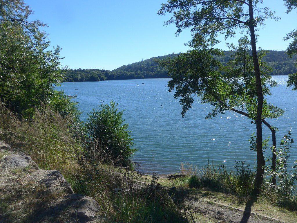 Le lac d'Aydat.
