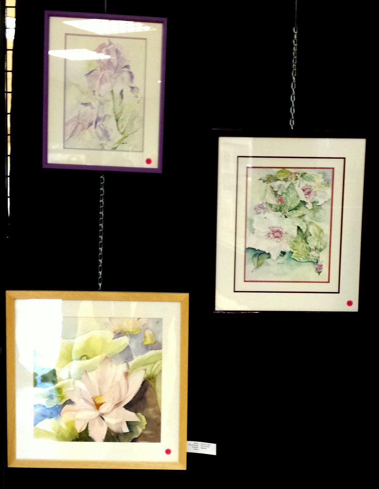 Photos adhérents  expo &quot&#x3B;pinceaux et couleurs&quot&#x3B;