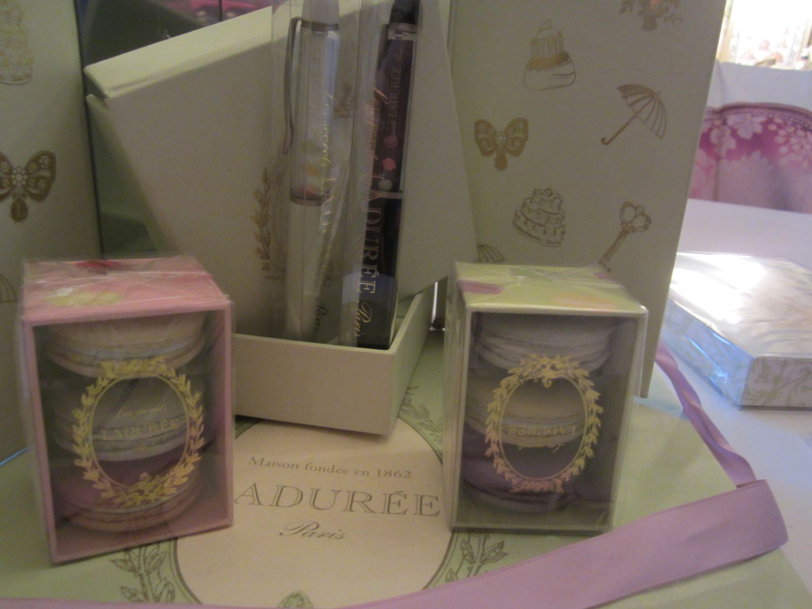 GOMMES LES SECRETS LADUREE