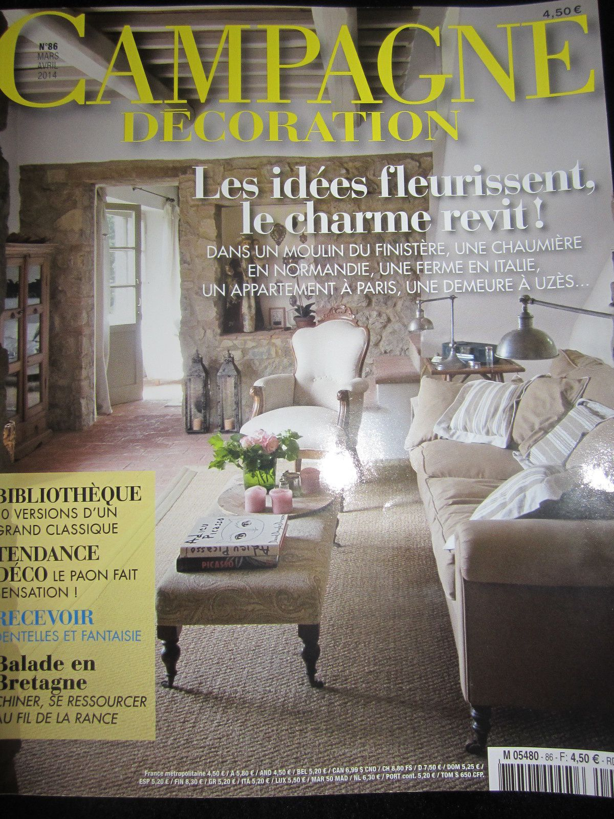 La presse en parle le blog de for Campagne decoration