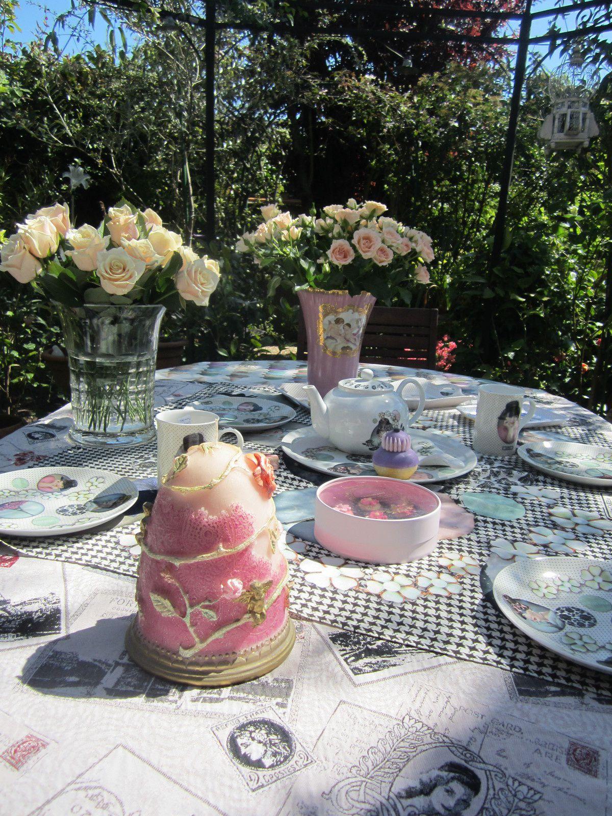 Assiette Collection FOULARD des CAKES de BERTRAND