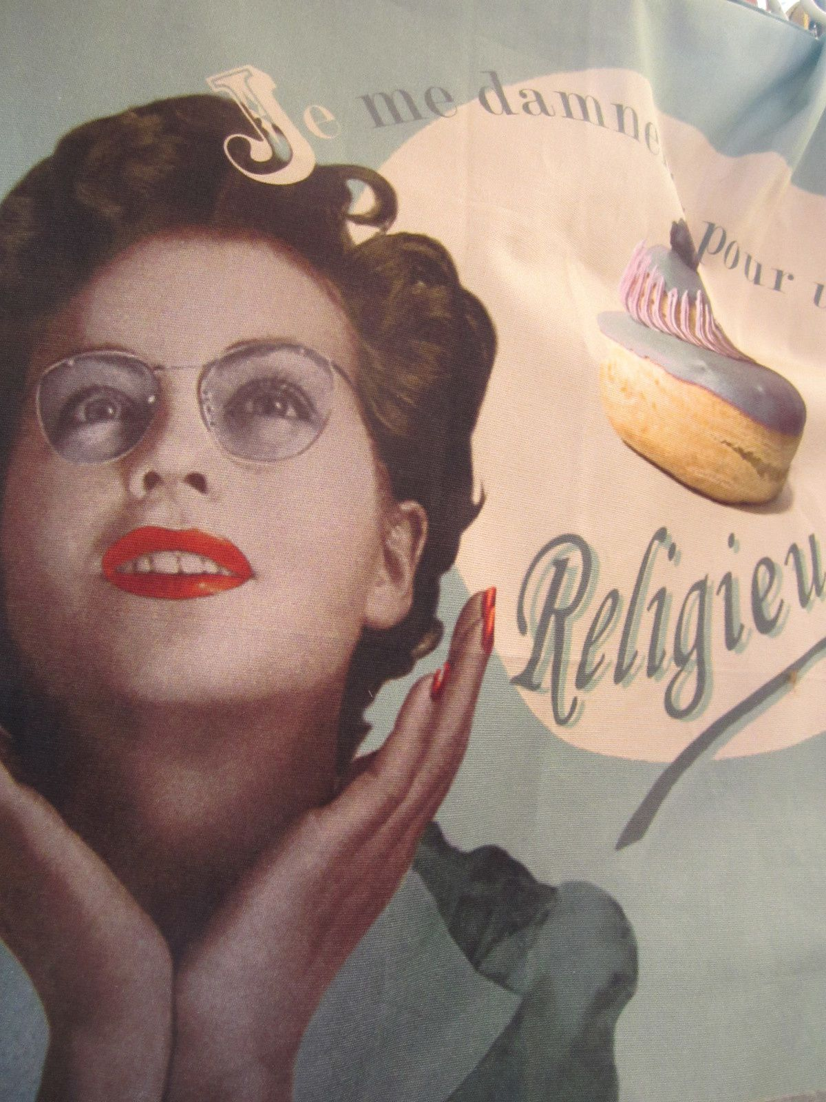 """TORCHON """" LA RELIGIEUSE """" de GRAIN DE COULEUR"""