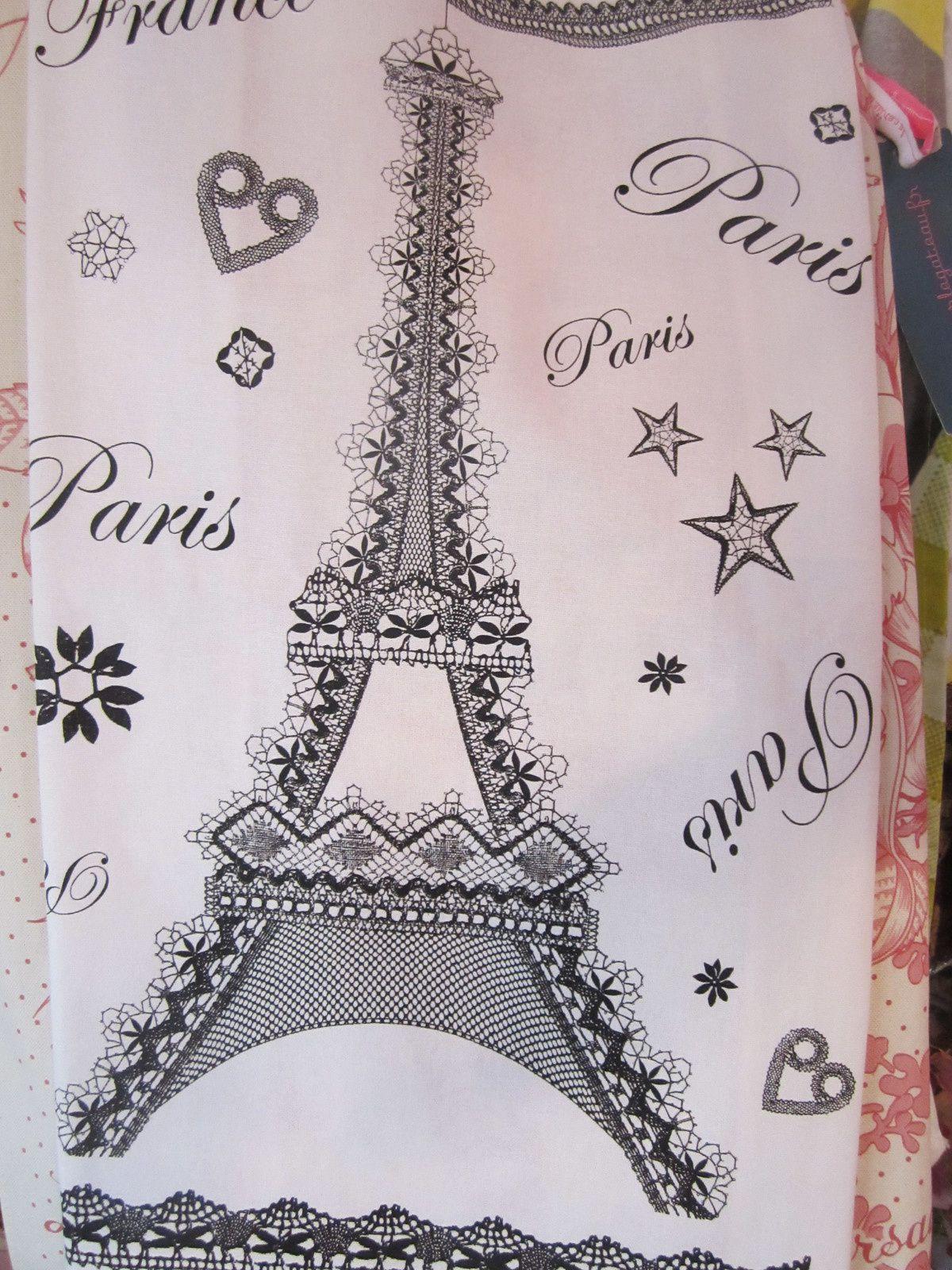 """TORCHON """" PARIS DENTELLE """" de TORCHONS et BOUCHONS"""