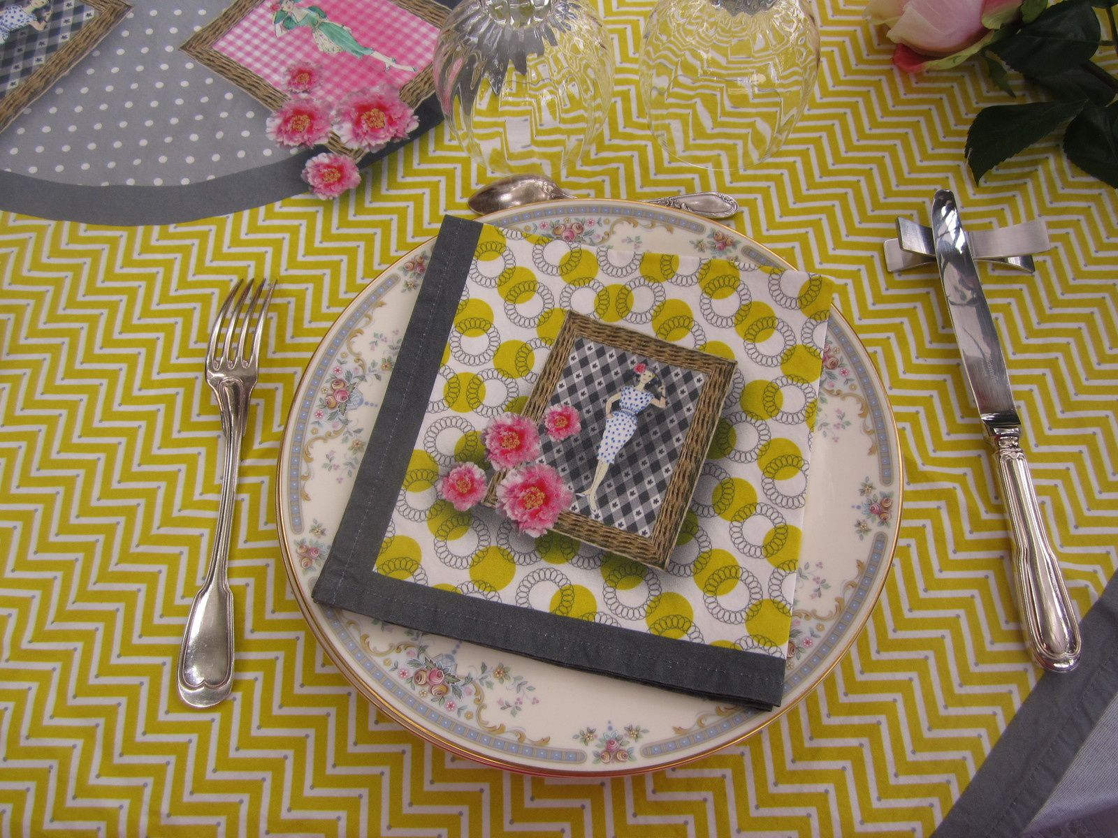 SERVIETTE Collection PIC NIC CHIC