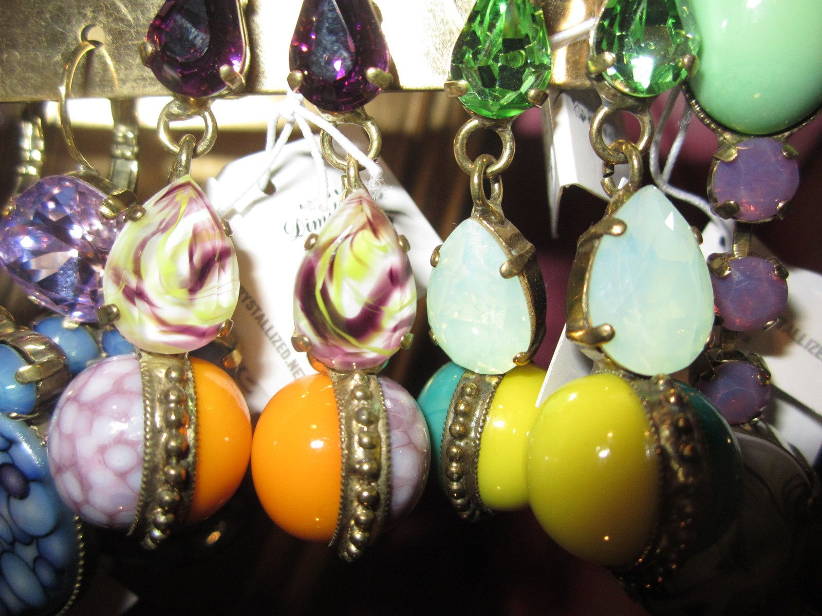 BOUCLES D' OREILLES Made in GRECE par ART WEAR DIMITRIADIS