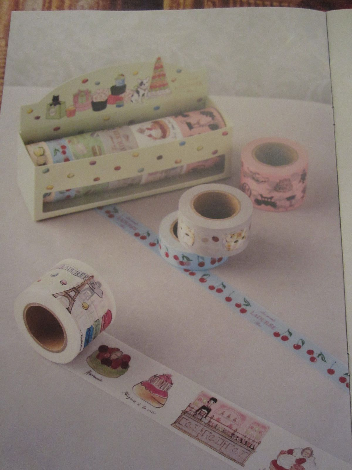 MASKING TAPE Les Secrets LADUREE par MARK'S