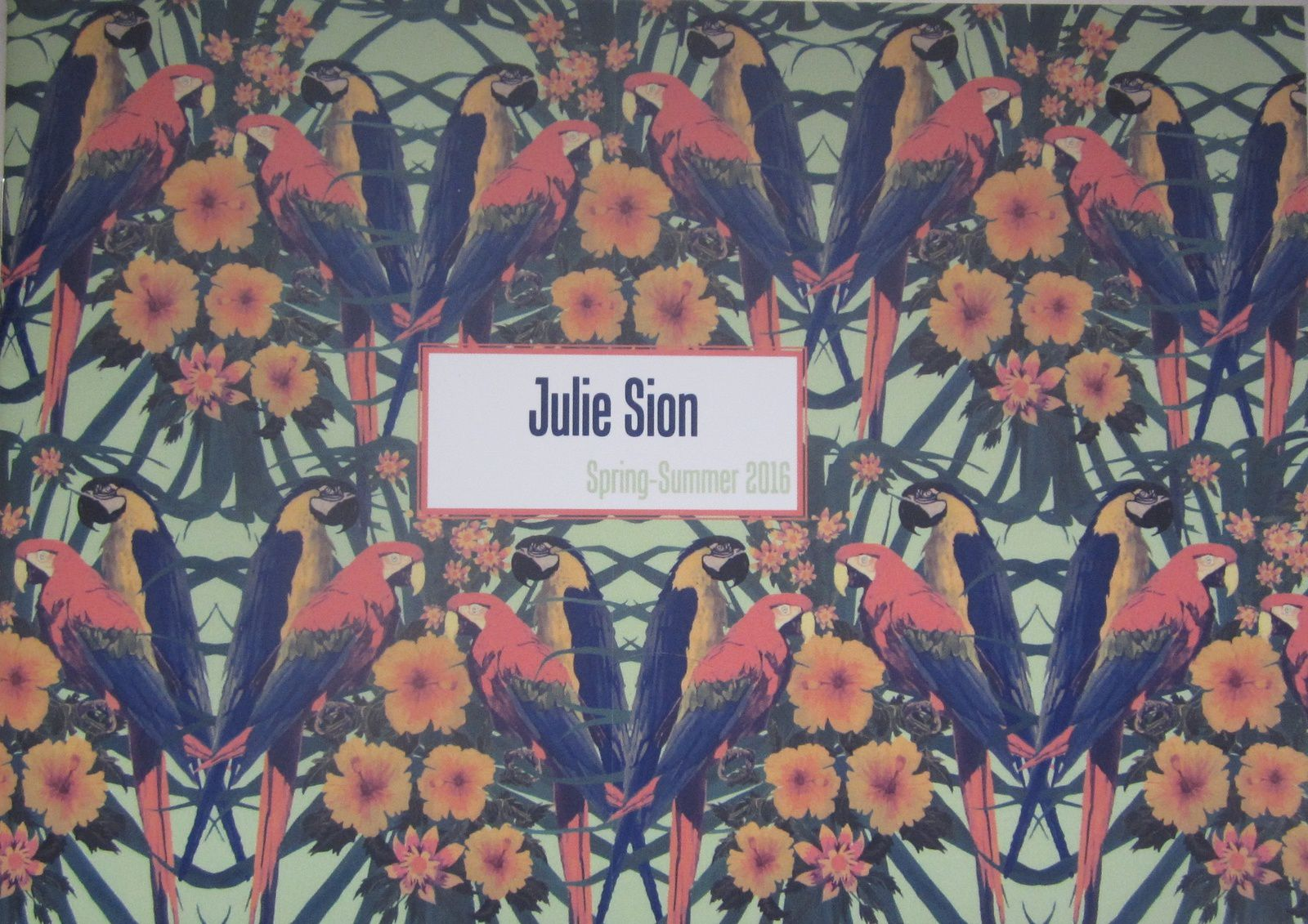 COLLECTION PRINTEMPS-ÉTÉ 2016 de JULIE SION