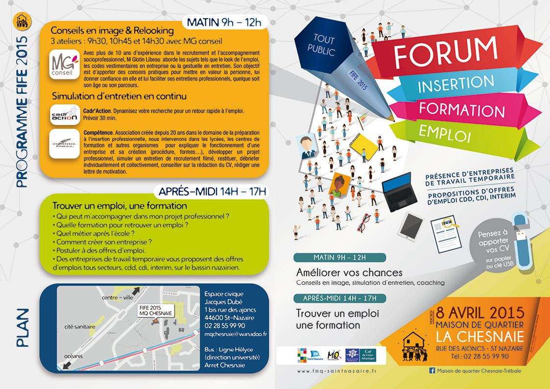 forum insertion formation emploi FIFE 2015 - 8 avril