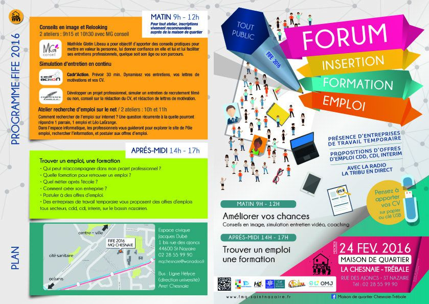 forum insertion formation emploi 2016