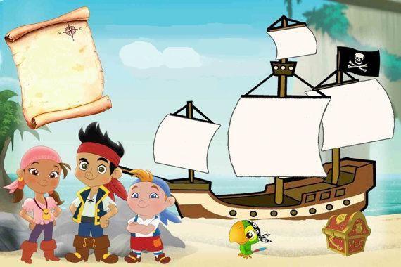 Anniversaire Jake et les pirates