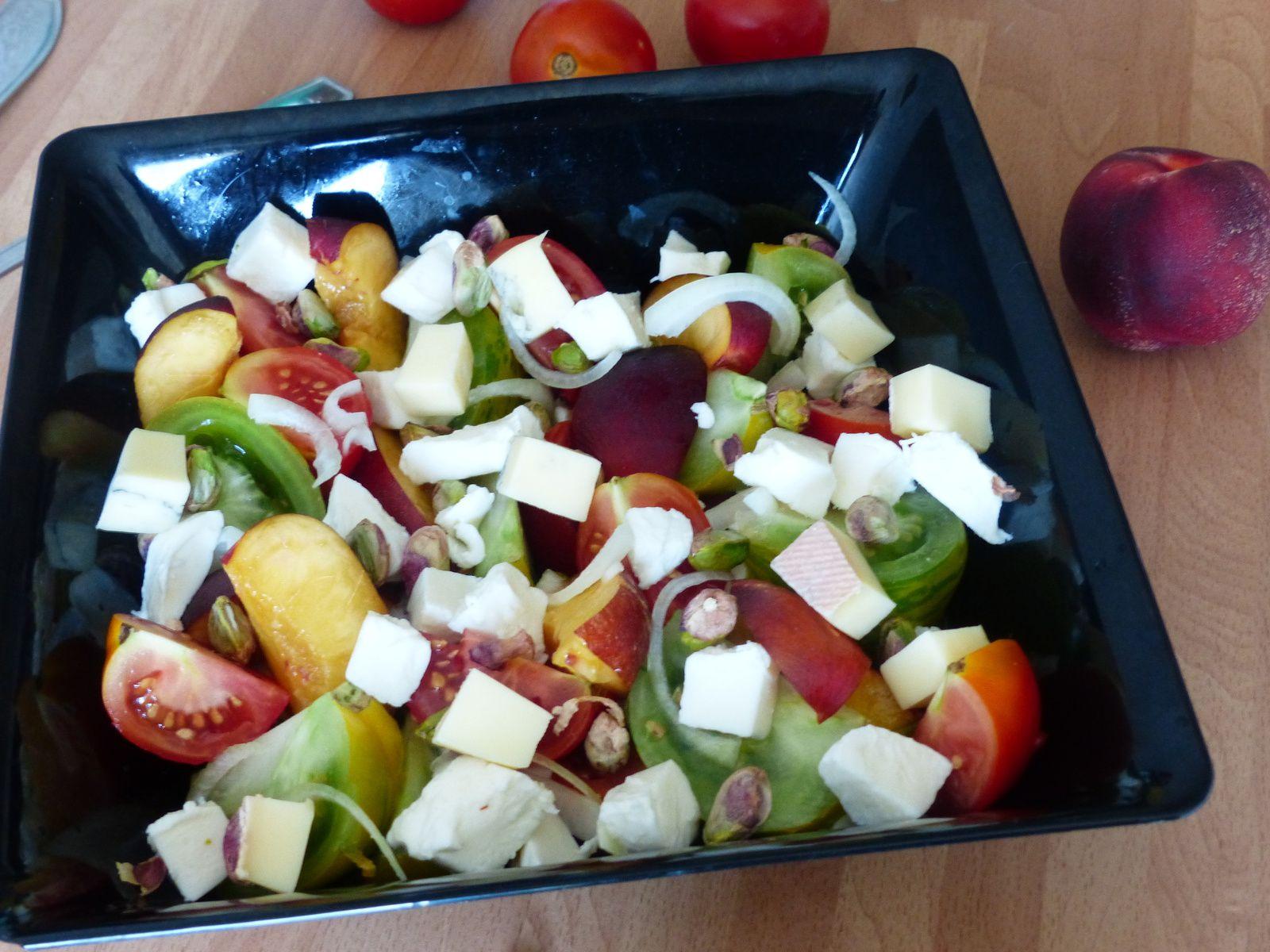 Salade de tomates à ma façon