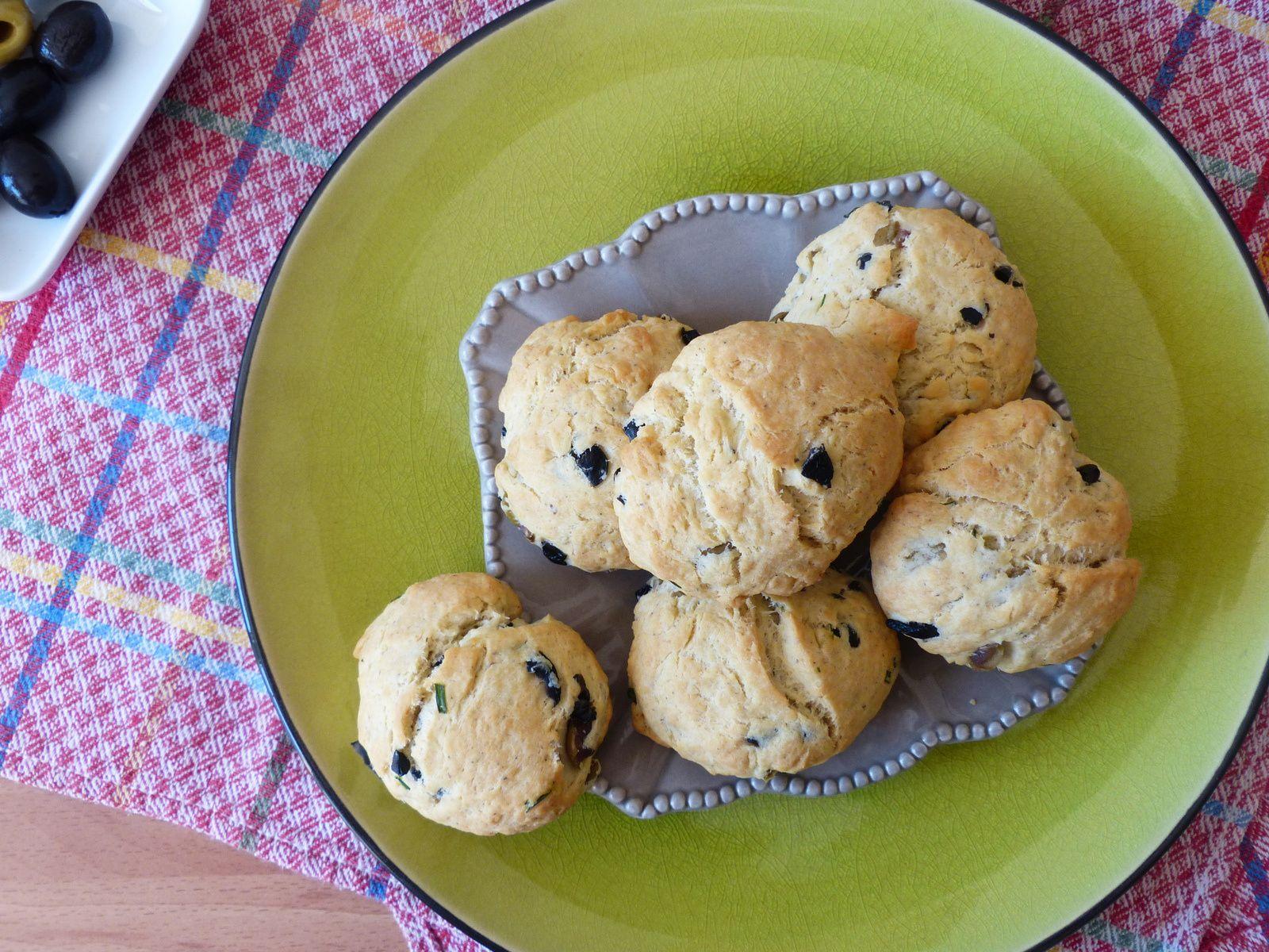 Cookies aux deux olives
