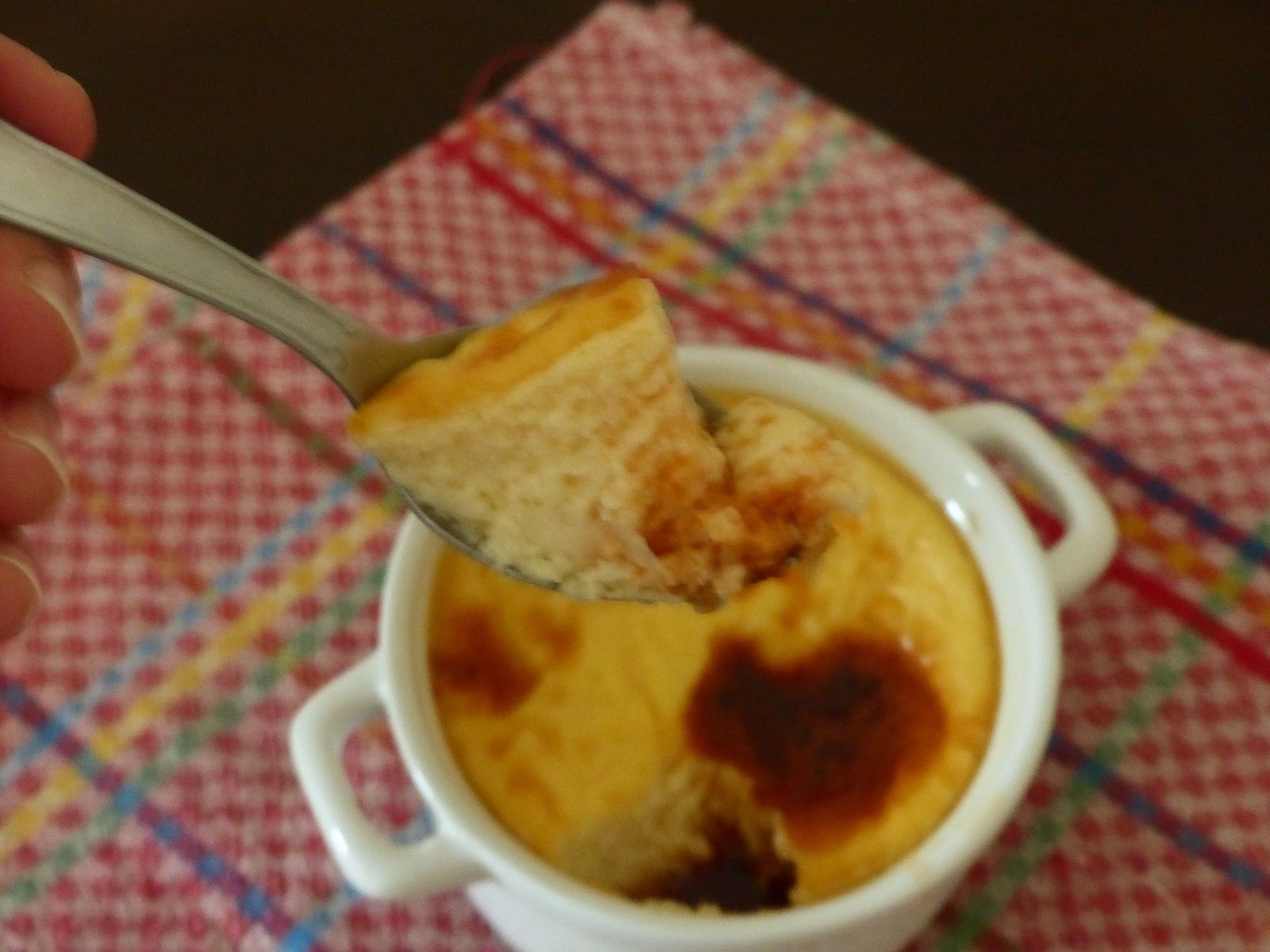 Crème caramel à la fleur d'oranger