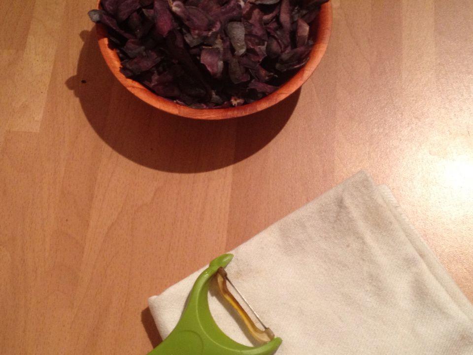 Gratin de pommes de terre Vitelottes