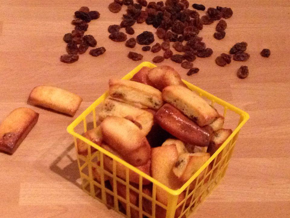 Mini-lingots amande et raisins secs
