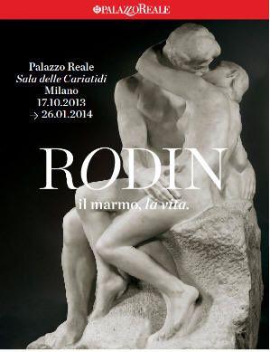 Rodin. Il marmo, la vita. A Milano