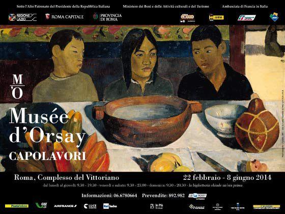 """""""Musée d'Orsay. Capolavori"""" a Roma e un paio di delizie di A.Escoffier"""