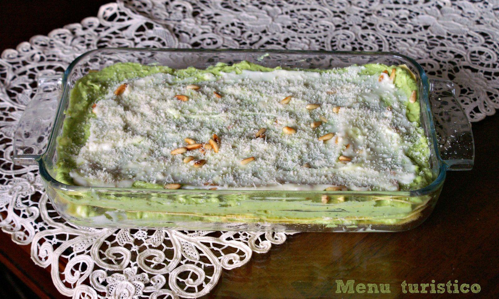 Lasagne al pesto, ma al forno, alla Portofino (2) !!! e taaaaante lasagne diverse...