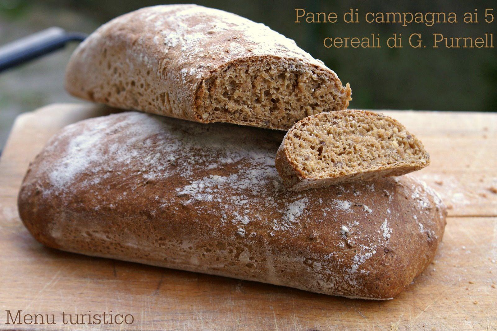 Il pane di campagna (ai 5 cereali) di G.Purnell e... l'influenza che stordisce.