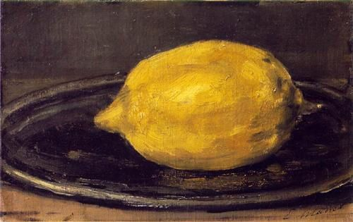 E. Manet The Lemon, 1880 (Musée d'Orsay)