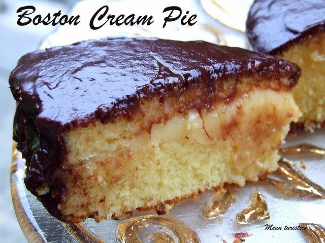 Boston Cream Pie di Martha Stewart - Menuturistico